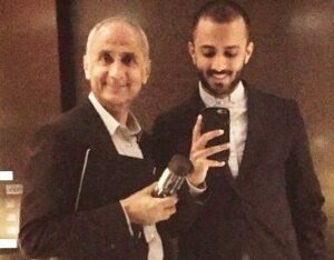 Anand Ahuja with his brother father