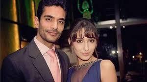 Nora Fatehi with her ex-boyfriend Angad