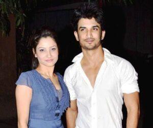 Sushant Singh Rajput with his ex-girlfriend AnkitaSushant Singh Rajput with his ex-girlfriend Ankita