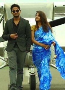 Deepthi Sunaina with her boyfriend