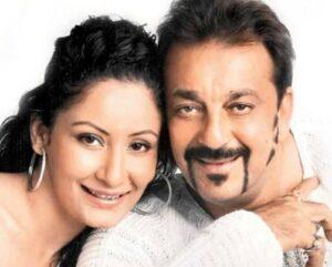Sanjay Dutt with his wife Manyata