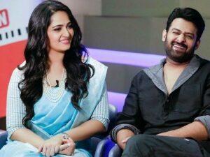 Anushka Shetty with her ex-boyfriend Prabhas