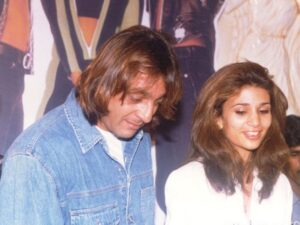 Sanjay Dutt with his ex-wife Rhea