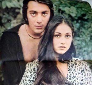 Sanjay Dutt with his ex-girlfriend Tina