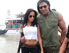 Nora Fatehi with her ex-boyfriend Varinder