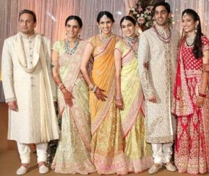 Shloka Mehta with her family