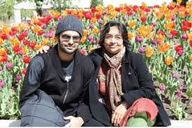 Ram Pothineni with his mother