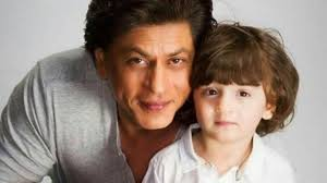 Shah Rukh Khan with his son Abram