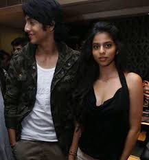 Suhana Khan with her boyfriend Ahaan