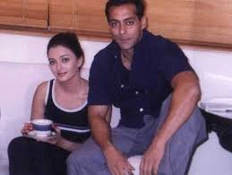 Salman Khan with his ex-girlfriend Aishwarya