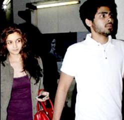Alia Bhatt with her ex-boyfriend Ali