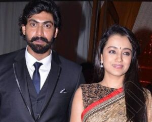 Rana Daggubati with his ex-girlfriend Trisha