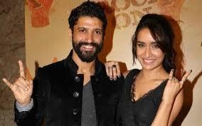 Shraddha Kapoor with her boyfriend Farhan