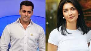Salman Khan & Faria Alam