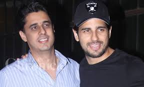 Sidharth Malhotra with his brother