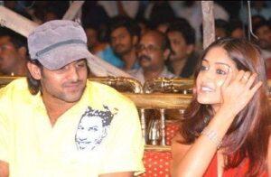 Prabhas with his ex-girlfriend Ileana