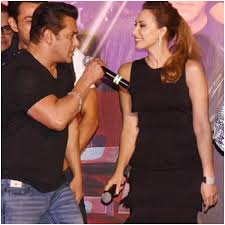 Salman Khan with his ex-girlfriend Iulia