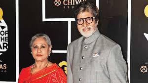 Amitabh Bachchan with his wife Jaya