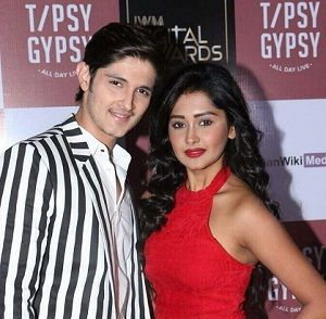 Rohan Mehra with his girlfriend Kanchi