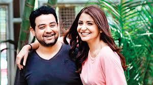 Anushka Sharma with her brother