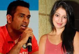Mahendra Singh Dhoni & Lakshmi Rai