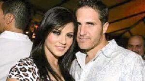 Sunny Leone with her ex-boyfriend Matt