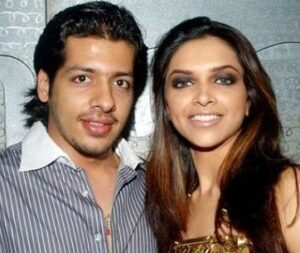 Deepika Padukone with her ex-boyfriend Nihar