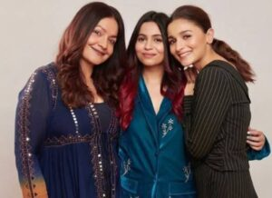 Alia Bhatt with her sisters