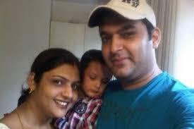 Kapil Sharma with his sister