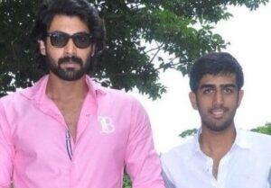 Rana Daggubati with his brother