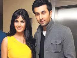 Katrina Kaif with her ex-boyfriend Ranbir