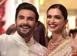 Deepika Padukone with her husband Ranveer