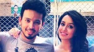 Shraddha Kapoor with her boyfriend Rohan