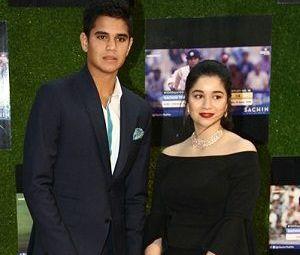 Sara Tendulkar with her brother