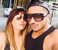 Yo Yo Honey Singh with his wife
