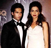 Deepika Padukone with her ex-boyfriend Siddharth