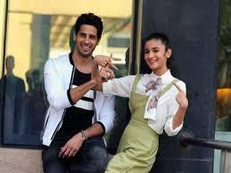 Alia Bhatt with her ex-boyfriend Sidharth