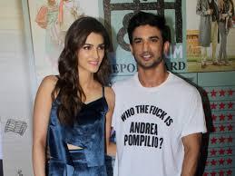 Kriti Sanon with her ex-boyfriend Sushant