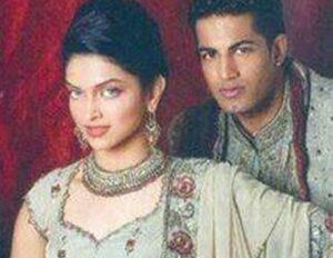 Deepika Padukone with her ex-boyfriend Upen