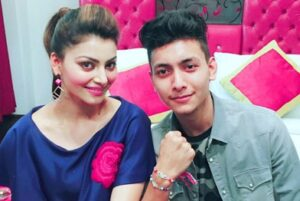 Urvashi Rautela with her brother