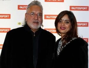 Pinky Lalwani with her boyfriend