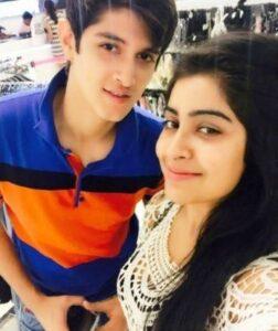 Rohan Mehra with his ex-girlfriend Yukti
