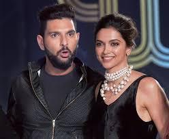Deepika Padukone with her ex-boyfriend Yuvraj