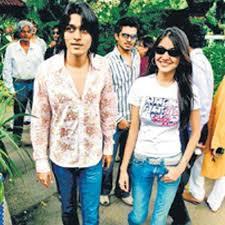 Anushka Sharma with her ex-boyfriend Zoheb