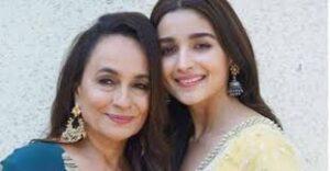 Alia Bhatt with her mother