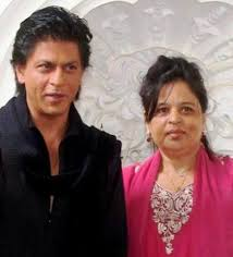 Shah Rukh Khan with his sister