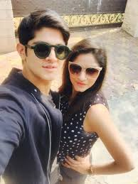 Rohan Mehra with his sister