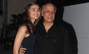 Alia Bhatt with her father