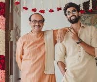 Rana Daggubati with his father