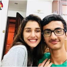 Disha Patani with her brother